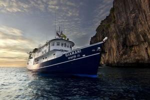 Thailand Tauchsafaris mit MV Giamani