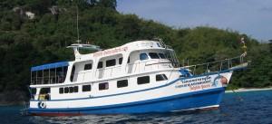 Tauchsafari Myanmar - MV Dolphin Queen